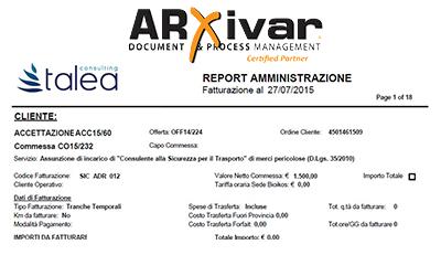 """Con ARXivar Report per raccogliere le informazioni """"giuste"""" in un unico documento"""