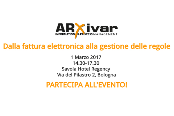 Event ARxivar 1 marzo