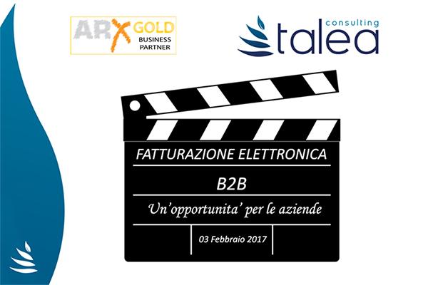 Atti Webinar Fatturazione Elettronica B2B
