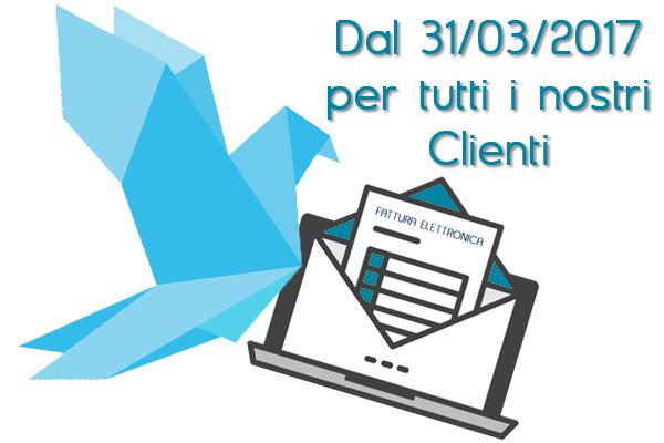 Fatture elettroniche B2B dal 31 marzo per tutti i nostri Clienti