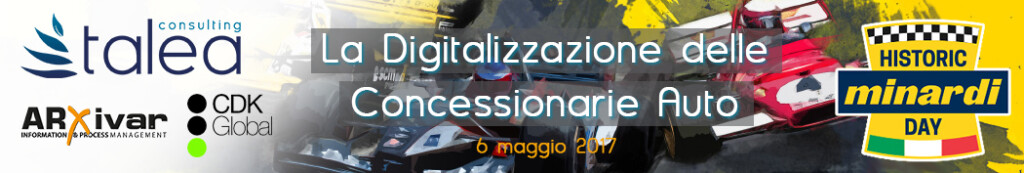 Evento Digitalizzazione Concessionarie Auto