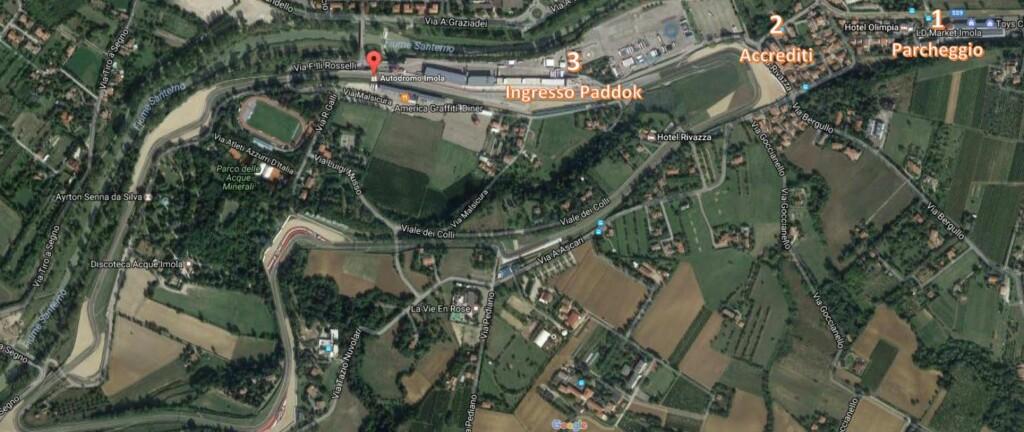 Mappa Historic Minardi Day