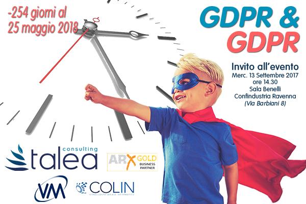 Evento GDPR & GDPR Confindustria Ravenna