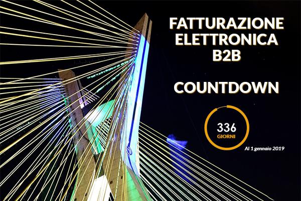 Fatturazione Elettronica B2B Countdown