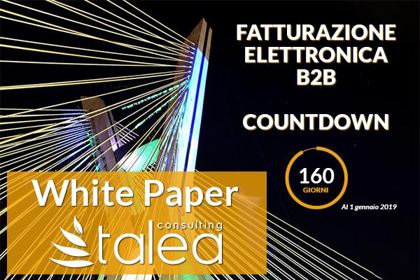 Fatturazione Elettronica B2B Countdown White Paper