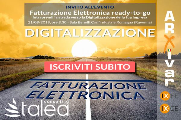Fatturazione Elettronica B2B Confindustria Romagna