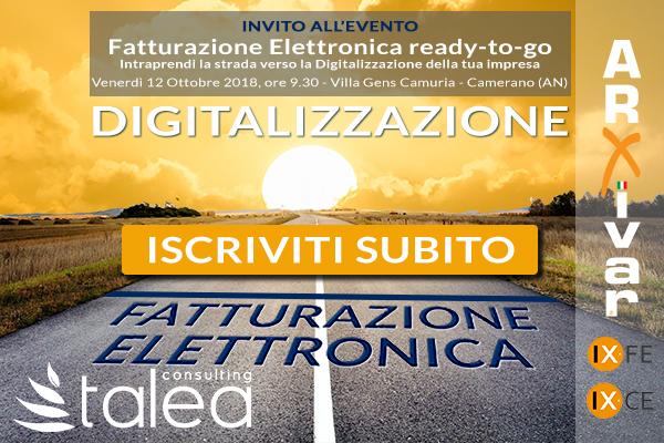 Fatturazione Elettronica B2B Ancona