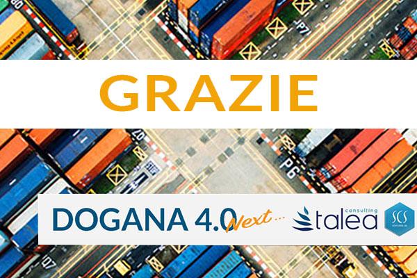 GRAZIE Webinar Dogana 4.0 Next
