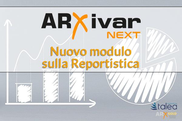 Nuovo modulo report arxivar next