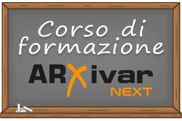 Corso ARXivar NEXT Ottobre 2020